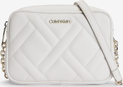 Calvin Klein Tasche in gold / offwhite: Frontalansicht