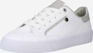 Sneaker low 'Fiona' de la ESPRIT pe alb