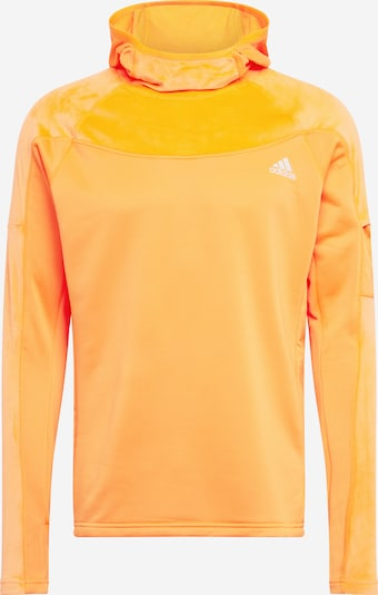 ADIDAS PERFORMANCE Sportsweatshirt 'Own the Run Warm' in orange, Produktansicht