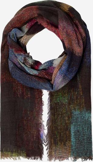 APART Schal in braun / grasgrün / pink / schwarz, Produktansicht