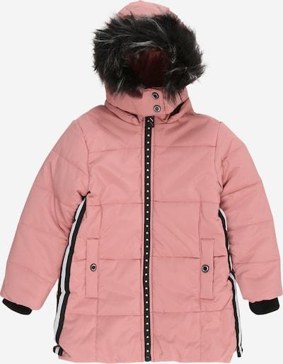 LEMON BERET Vinterjakke i lyserød / sort: Frontvisning