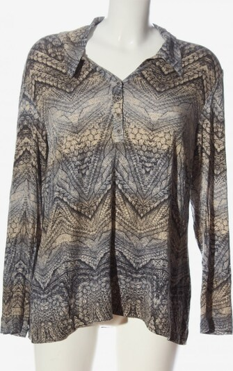 Atelier Creation Langarm-Bluse in XXL in pastellgelb, Produktansicht