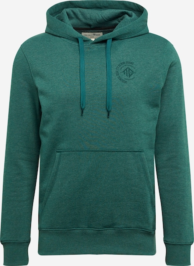 TOM TAILOR DENIM Sweat-shirt en vert chiné, Vue avec produit