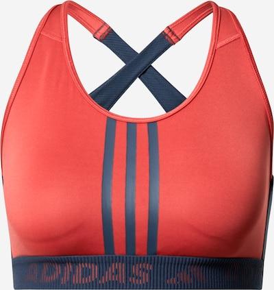ADIDAS PERFORMANCE Sport-BH 'DRST 3S B' in dunkelblau / dunkelrot, Produktansicht