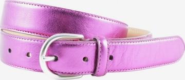 Hüftgold Ledergürtel in XS-XL in Pink