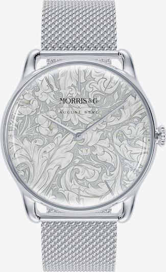 August Berg Uhr 'MORRIS & CO 38mm' in silber / weiß, Produktansicht