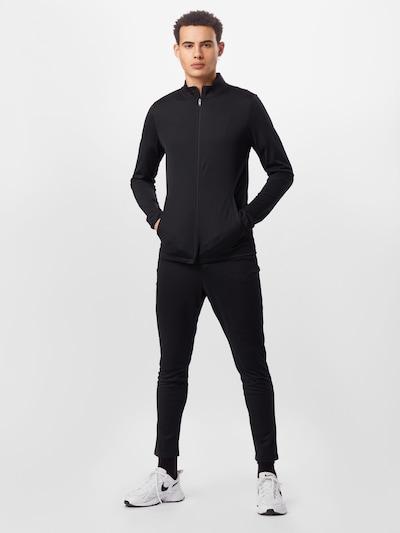 NIKE Trainingsanzug 'Academy' in schwarz: Frontalansicht