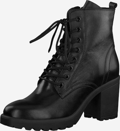 TAMARIS Bottines à lacets en noir, Vue avec produit