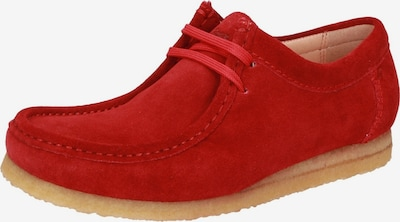 SIOUX Mokassin in rot, Produktansicht