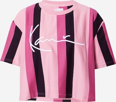 Karl Kani T-Shirt in pink / hellpink / schwarz, Produktansicht