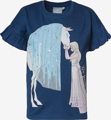 Disney Die Eiskönigin T-Shirt in Blau