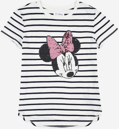 GAP Shirt in nachtblau / hellblau / rosé / weiß, Produktansicht