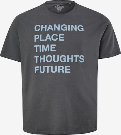 s.Oliver T-Shirt in blau / grau, Produktansicht