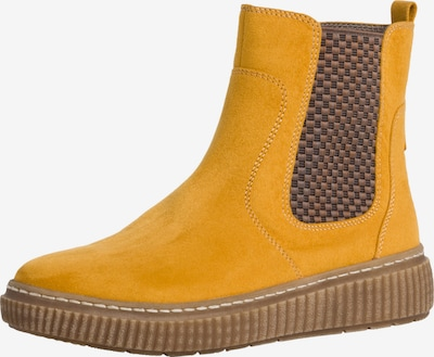 JANA Chelsea Boots in Brown / Mustard, Item view