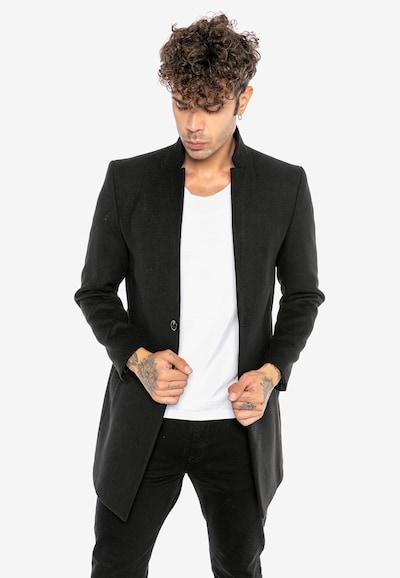 Redbridge Mantel in schwarz, Modelansicht