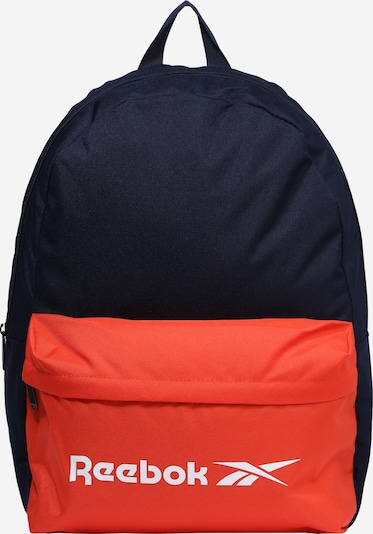 REEBOK Sports backpack in dark blue / melon / white, Item view