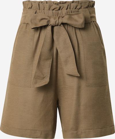 ONLY Bukser med lægfolder 'SMILLA' i khaki, Produktvisning