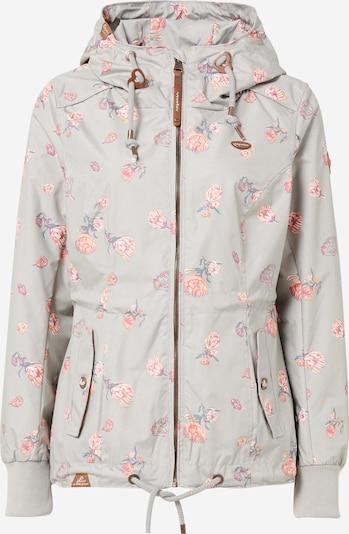 Ragwear Overgangsjakke 'Danka Flowers' i beige / grå / pink, Produktvisning