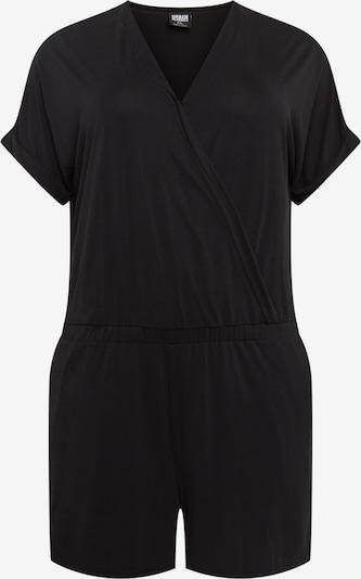 Urban Classics Curvy Jumpsuit in schwarz, Produktansicht