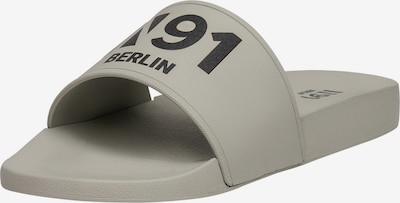 N91 Sandale 'Urban Slide AA' in grau, Produktansicht