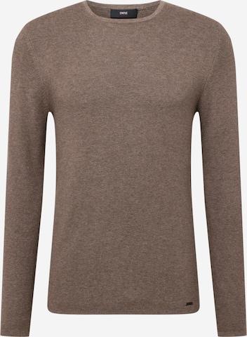 CINQUE Sweter 'OWEN' w kolorze brązowy