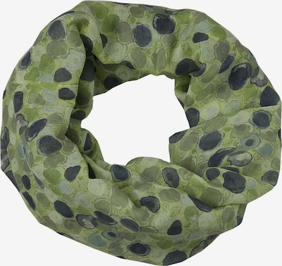 Zwillingsherz Kruhová šála - tmavě modrá / zelená, Produkt