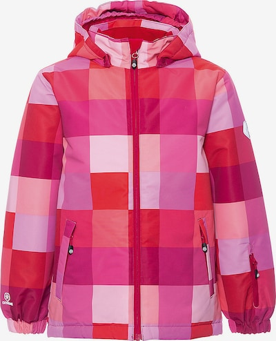COLOR KIDS Jacke 'Dikson' in rosa: Frontalansicht