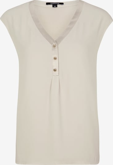 COMMA Shirt in beige, Produktansicht