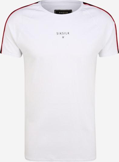 SikSilk Majica u crvena / crna / bijela, Pregled proizvoda