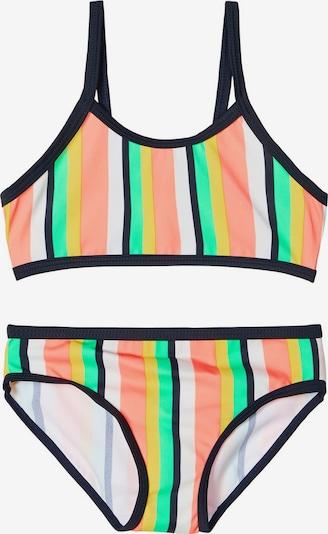 NAME IT Bikini en or / jade / rosé / noir / blanc, Vue avec produit
