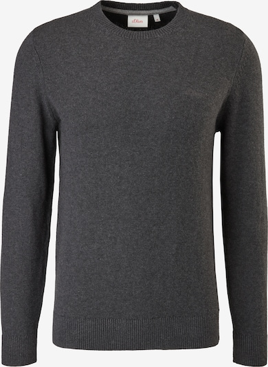 s.Oliver Pullover in mottled grey, Item view