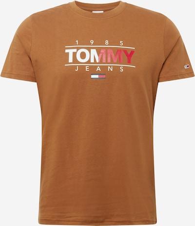 Tommy Jeans Shirt in sand / nachtblau / rot / weiß, Produktansicht
