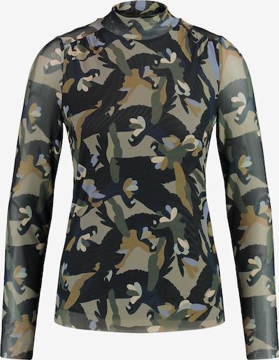 TAIFUN Shirt in Khaki / Olive / Black, Item view