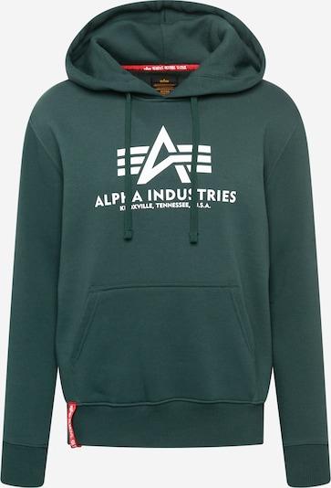 Pullover ALPHA INDUSTRIES di colore navy / rosso / bianco, Visualizzazione prodotti