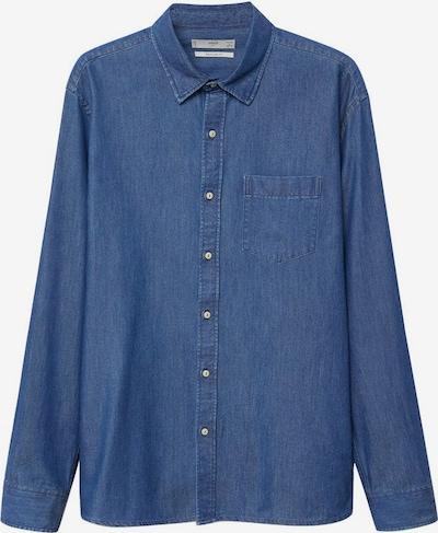 MANGO MAN Koszula 'Chambre' w kolorze ciemny niebieskim, Podgląd produktu