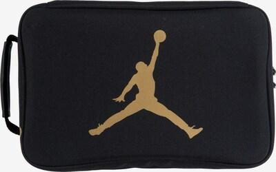 Jordan Tasche in gold / schwarz: Frontalansicht