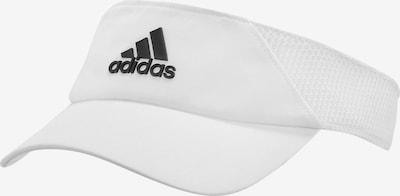 ADIDAS PERFORMANCE Visor in schwarz / weiß, Produktansicht