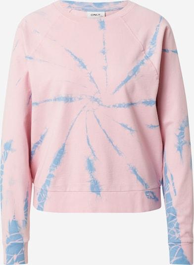 ONLY Sweatshirt 'TIA' i blå / lyserød, Produktvisning