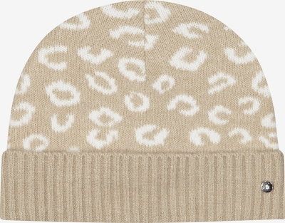 CODELLO Mütze in beige / weiß, Produktansicht