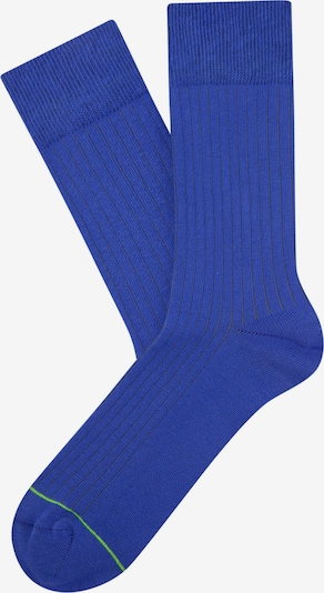 Cheerio Socken 'Rib Companion' in royalblau, Produktansicht