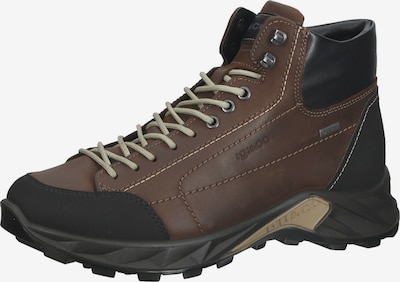 IGI&CO Lace-Up Boots in Brown / Black, Item view