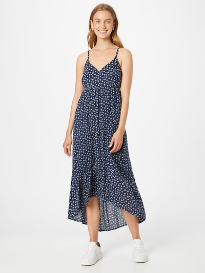 Rochie de vară HOLLISTER pe bleumarin / alb, Vizualizare model