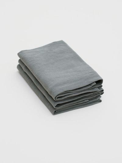 Erlich Textil Torchon à vaisselle 'Bente' en gris foncé, Vue avec produit