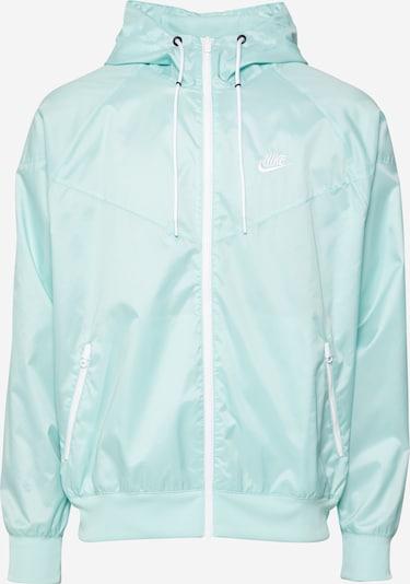 Nike Sportswear Jacke in mint / weiß, Produktansicht