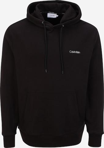 Calvin Klein Big & Tall Sweatshirt in Schwarz
