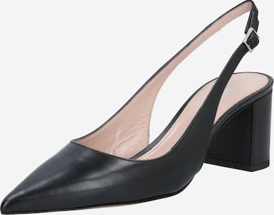 HUGO Čevlji s peto in s paščki 'Ines' | črna barva, Prikaz izdelka