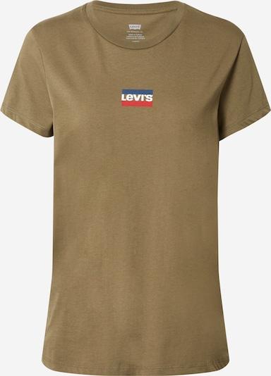 LEVI'S Majica u mornarsko plava / kaki / crvena / bijela, Pregled proizvoda