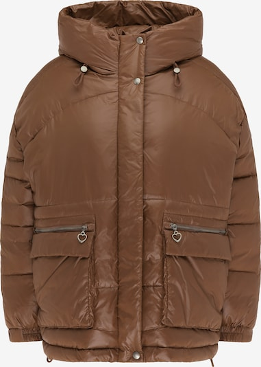 MYMO Winterjas in de kleur Bruin, Productweergave