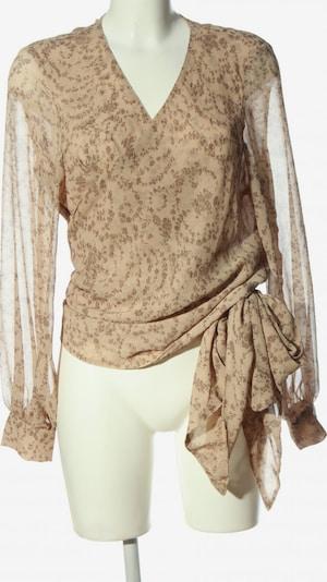 Bardot Langarm-Bluse in XXL in braun / wollweiß, Produktansicht