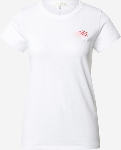 rag & bone Koszulka 'Palm' w kolorze różowy / pudrowy / jasnoróżowy / białym, Podgląd produktu